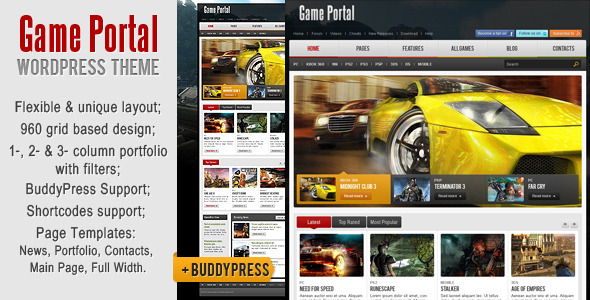 Best Commercial Buddypress Themes 2012