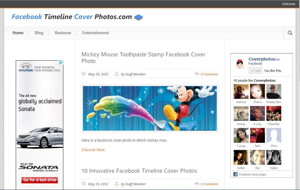 Facebook Timeline Cover Photos