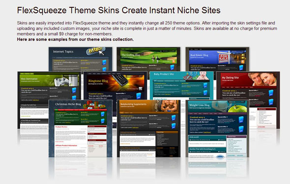 Best Squeeze Page Or Sales Page WordPress Themes