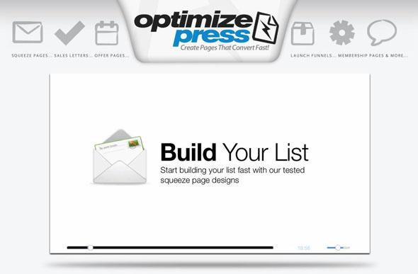 Optimizepress WordPress Theme