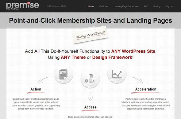 Premise WordPress plugin