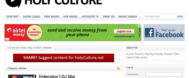 Holyculture
