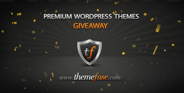Giveaway 3 Premium WordPress Themes From ThemeFuse
