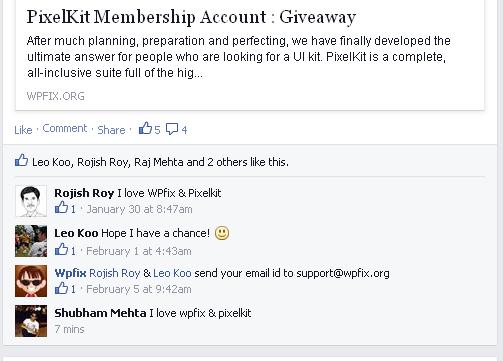 Pixelkit WPFix giveaway